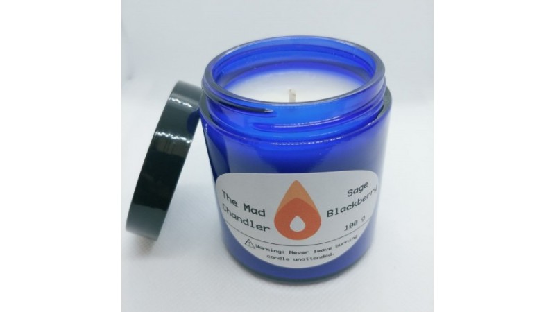 Sage Blackberry Soy Candle is SOLD OUT!