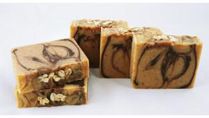 Banana Chocolate & Oatmeal Soap