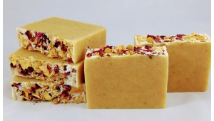 Chamomile Rose Tea Soap