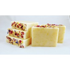 Lavender, Rose Petals and Calendula Soap