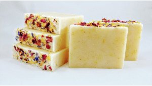 Lavender, Rose Petals and Calendula Soap is SOLD OUT AGAIN!