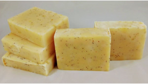 Lemon Lime Poppyseed Soap is SOLD OUT!