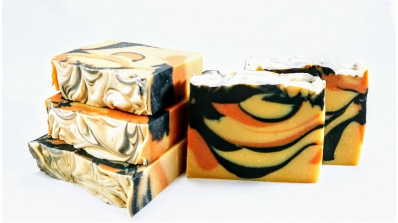 Pink Clay & Charcoal Soap